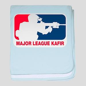 Major League Kafir baby blanket