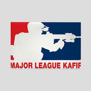 Major League Kafir Rectangle Magnet