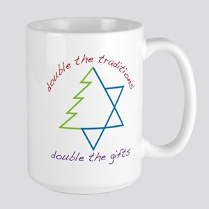 Double The Tradititons Large Mug