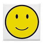 Happy Face Smiley Tile Coaster