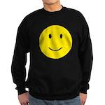 Happy Face Smiley Sweatshirt (dark)