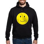 Happy Face Smiley Hoodie (dark)