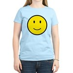 Happy Face Smiley Women's Light T-Shirt