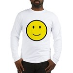 Happy Face Smiley Long Sleeve T-Shirt