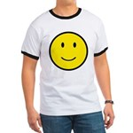 Happy Face Smiley Ringer T