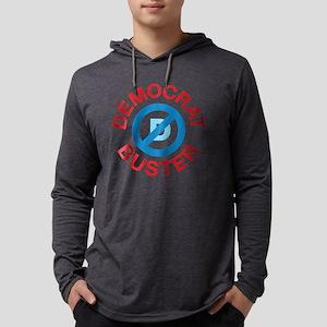 2-Democrat Buster 1 Mens Hooded Shirt