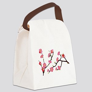 flowering quince Canvas Lunch Bag