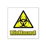 Biohazard 2 Square Sticker 3
