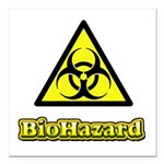 Biohazard 2 Square Car Magnet 3