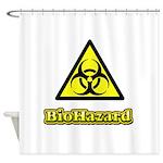 Biohazard 2 Shower Curtain