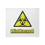 Biohazard 2 Throw Blanket