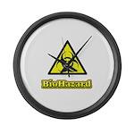 Biohazard 2 Large Wall Clock