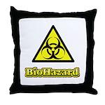 Biohazard 2 Throw Pillow