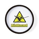 Biohazard 2 Wall Clock