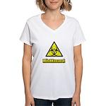 Biohazard 2 Women's V-Neck T-Shirt