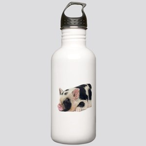 Micro pig chilling out Stainless Water Bottle 1.0L