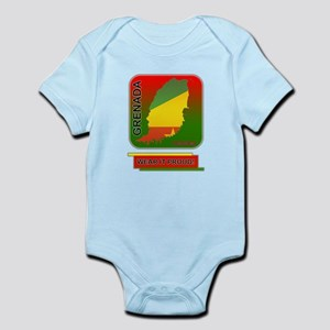Grenada Wear It Proud Infant Bodysuit