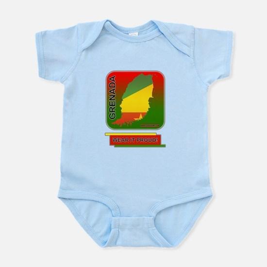 Grenada Wear It Proud Infant Bodysuit