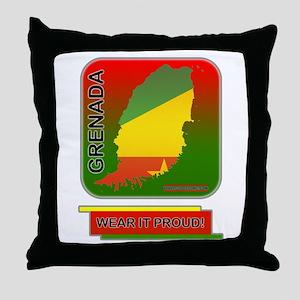 Grenada Wear It Proud Throw Pillow