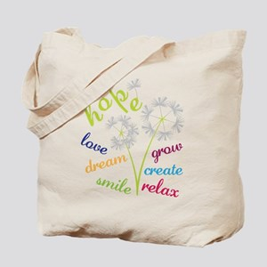 Dandelion Hope Tote Bag