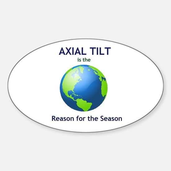 Reason for the Season Sticker (Oval)