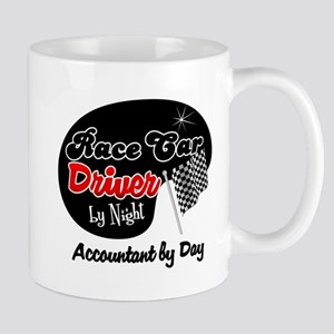 Race Car Driver Accountant Mug