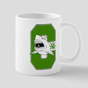 White Shark Cannabis Mug