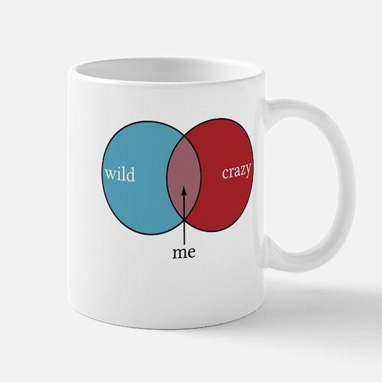 Wild and Crazy Venn Diagram Mug
