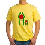 Proud Father Yellow T-Shirt