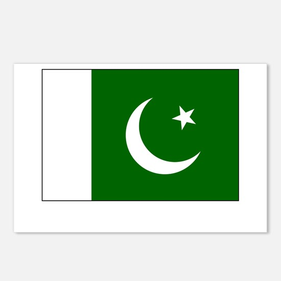 Pakistan Flag Picture Postcards (Package of 8)