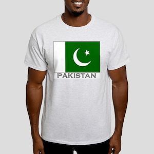 Pakistan Flag Stuff Ash Grey T-Shirt