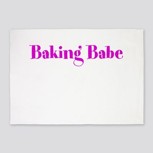 Baking Babe 5'x7'Area Rug