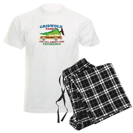 Griswold Family Christmas Tree Men's Light Pajamas