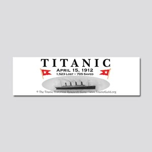 Titanic Ghost Ship Car Magnet 10 x 3