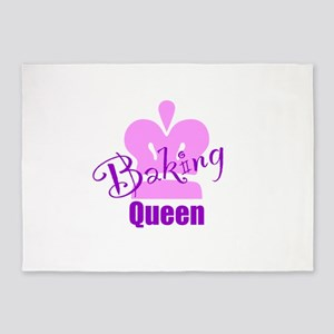 Baking Queen 5'x7'Area Rug