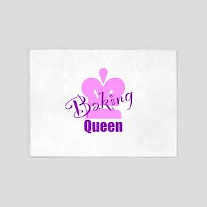 Baking Queen 5'x7'Area Rug