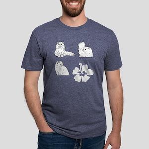florida cat Mens Tri-blend T-Shirt