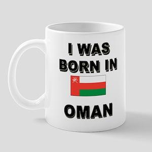I Was Born In Oman Mug