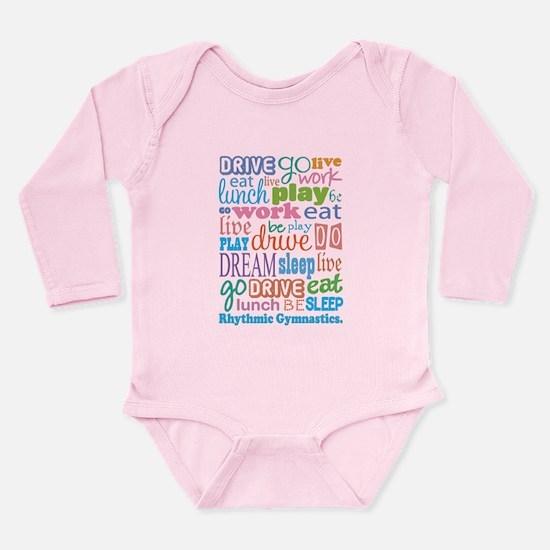 Rhythmic Gymnast Long Sleeve Infant Bodysuit