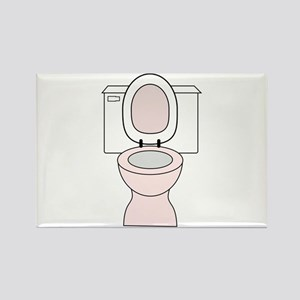 Potty Rectangle Magnet