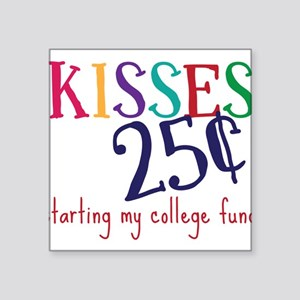 "My College Fund Square Sticker 3"" x 3"""