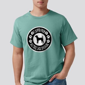 Jack Russell Terrier Mens Comfort Colors Shirt