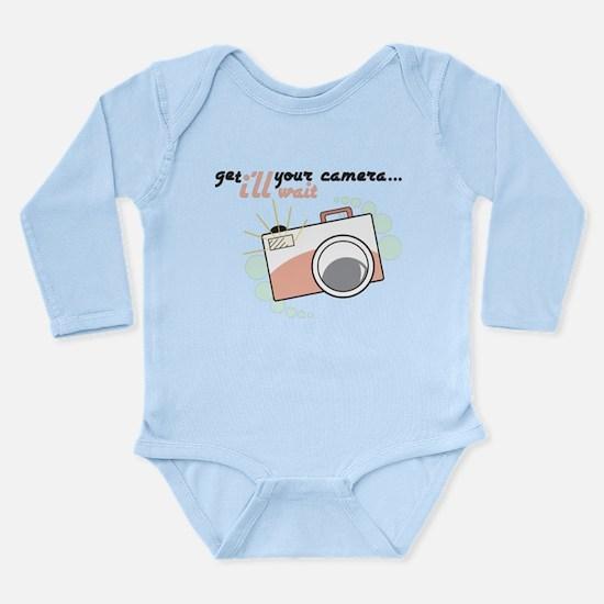 I'll Wait Long Sleeve Infant Bodysuit
