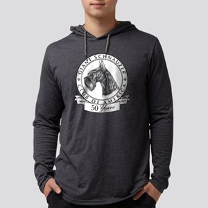 Giant Schnauzer Club of America  Mens Hooded Shirt