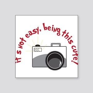 """It's Not Easy Square Sticker 3"""" x 3"""""""