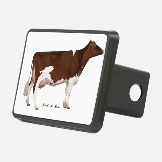 Red and White Holstein Cow Hitch Cover