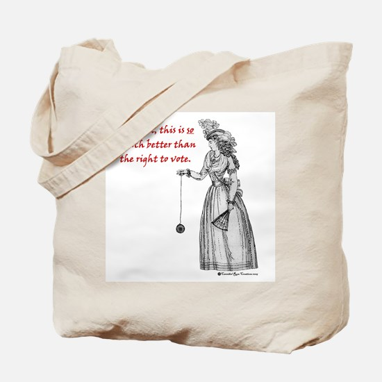 Suffering Suffragette Tote Bag