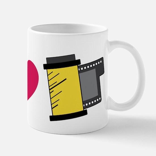 Peace Love Film Mug