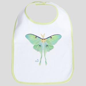 Luna Moth Bib