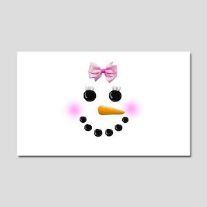 Snow Woman Car Magnet 20 x 12